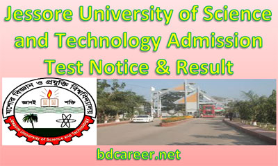 Science Technology University Jessore Admission
