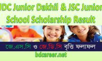 JSC Scholarship Result 2018 All Education Board